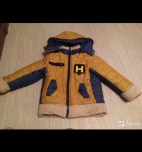 Куртка зимняя на рост 116