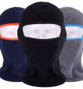 Балаклава маска флис тёплая