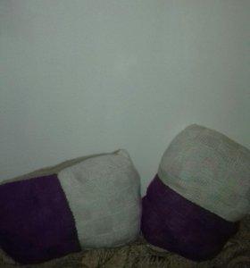 Подушки (вязаные)