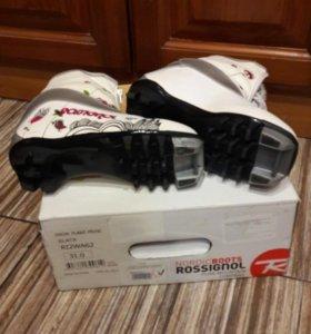 Лыжные ботинки для девочки