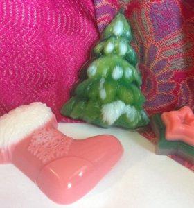 Мыло новогоднее