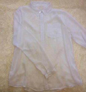 Блузка(полупрозрачная)