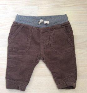 Вельветовые брюки ZARA новые