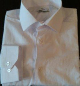 Рубашка мужская белая СРОЧНО