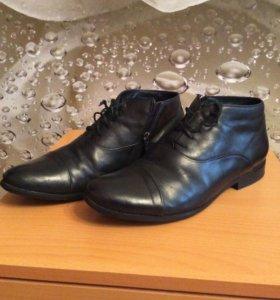 Мужские ботинки мех натуральный р. 41  Mascotte