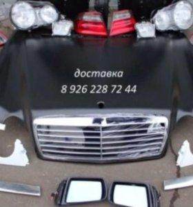 Бампер Запчасти мерседес 210 mercedes