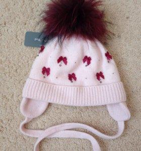 Зимняя шапка детская 48-50р