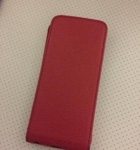 Продам чехлы iPhone 5s/5c кожаные