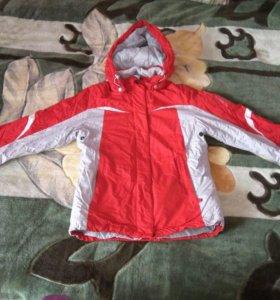 Мембранная фирменная куртка