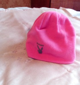 Розовая шапка 🐰