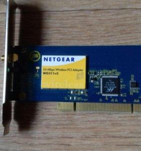 PCI WiFi адаптер Netgear WG311v3 802.11g