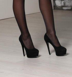 Туфли новые. Замша