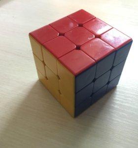 Скоростной кубик Рубика + смазка силиконовая