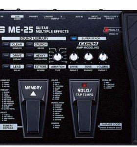Гитарный процессор boss-me-25