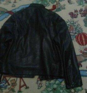 Коженная куртка мужская