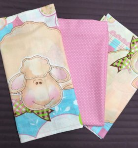 Новый комплект постельного белья ( детский )