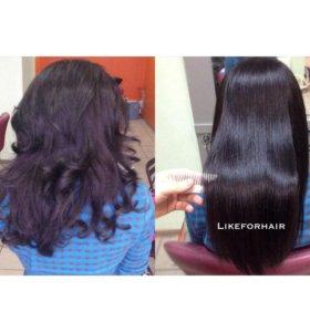 Ботокс для волос (кератиновое восстановление)
