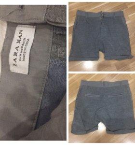 Новые мужские шорты Zara
