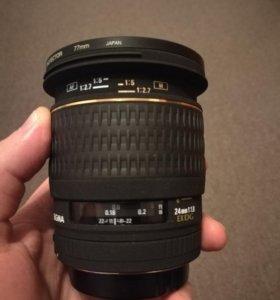 Sigma 24mm 1.8 canon