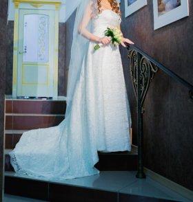 Свадебное платье!Звоните!