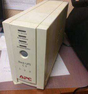 Ибп APC UPS CS 500VA