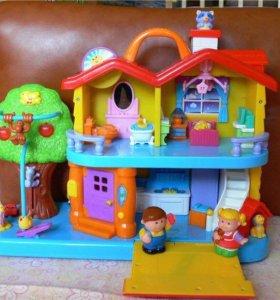 Занимательный дом от kiddieland
