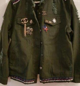 Куртка джинцовая (Chanel)