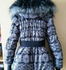 Пальто на девочку 8 -10 лет