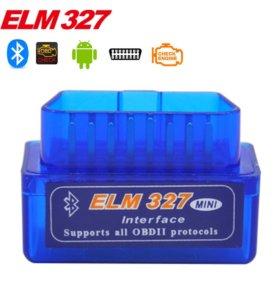 Obd 2 cканеры elm 327 Bluetooth wi-fi (новые)