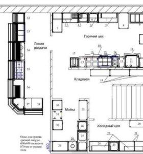 Проектирование кафе, столовой, банкетного зала