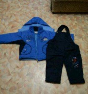 Курточка и комбенизон зима