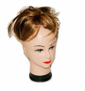 Шиньон парик накладка из волос на заколке
