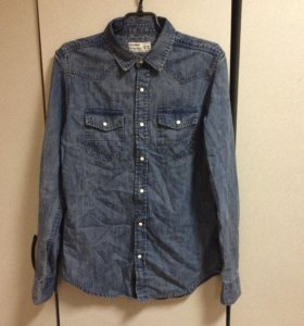 Джинсовая рубашка P&B