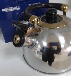 Чайник новый на плиту ROSENBERG