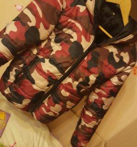 Стильная курточка на синтепоне М