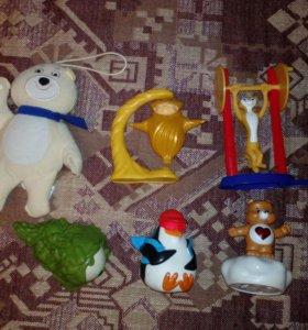 Игрушки из макдака