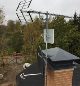 Настройка и установка антенн