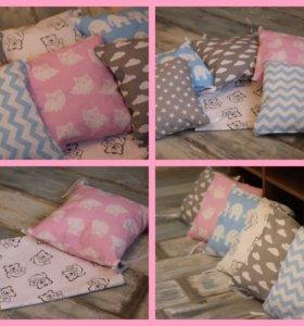 Авторские бортики подушки и простынка