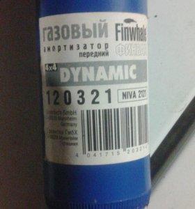 Газовые амортизаторы Finwhale для 2121