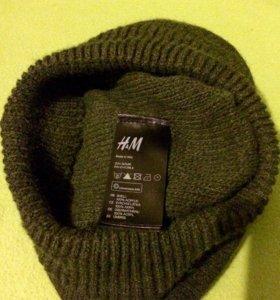 H&M шапка/шарф