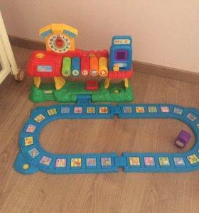 Vtech обучающая  железная дорога