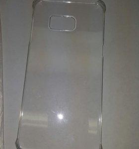 Бампер на samsung s6 edge+ стекло защитное