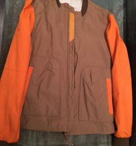 Куртка мужская брезент zara