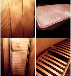 Много мебели шкаф,кровать,комод+🎁