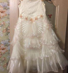 Детское новогоднее платье
