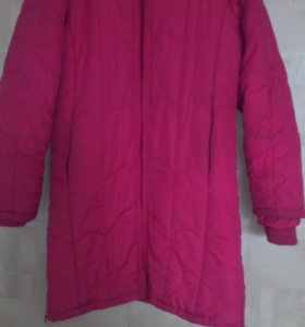 Пальто зимнее девочке