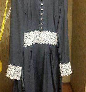 Тонкое коттоновое платье (новое)