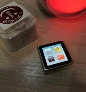 iPod nano (6th generation) - 8GB - Silver