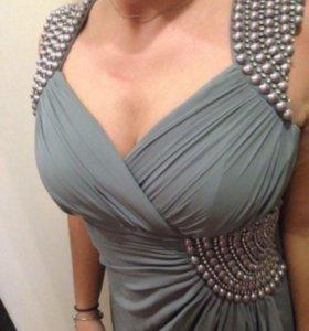 Платье вечернее шифоновое