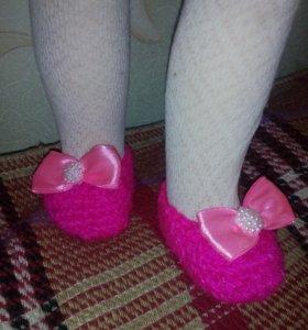 Туфельки для новорожденных принцесс
